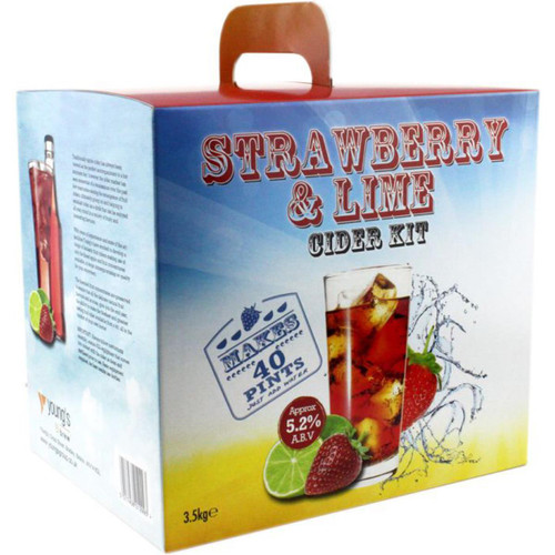 Youngs Strawberry & Lime Cider - 40 pint / 23L