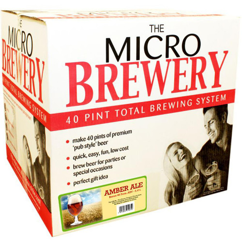 Youngs Micro Brewery Complete Starter Kit Amber Ale