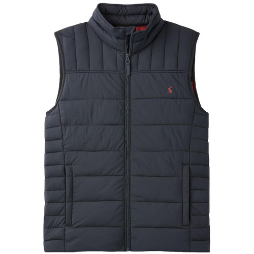 Marine Navy  Joules Mens Go To Padded Gilet
