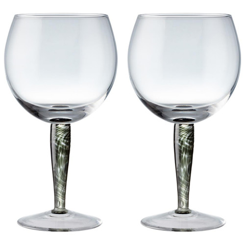 Denby Jet Gin Glass Pack Of 2