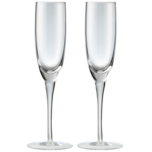 Denby China Champagne Flute Pack Of 2