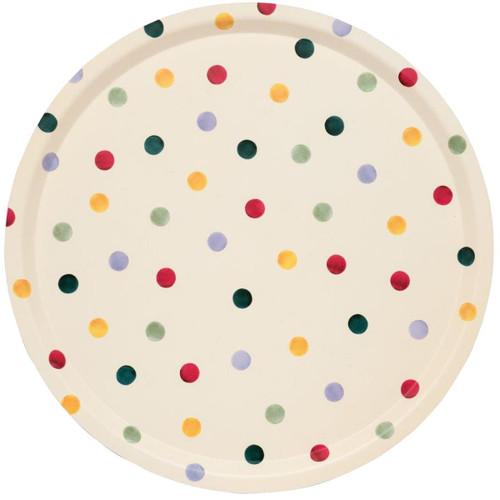 Emma Bridgewater Polka Dot Round Birch Tray