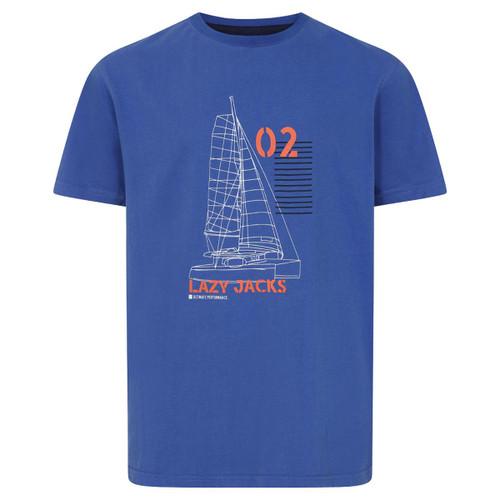 Denim Lazy Jacks LJ15C Printed T Shirt