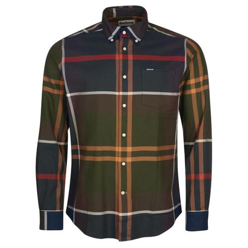 Classic Tartan Barbour Mens Dunoon Tailored Shirt