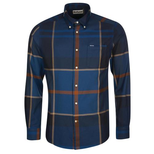 Midnight Tartan Barbour Mens Dunoon Tailored Shirt
