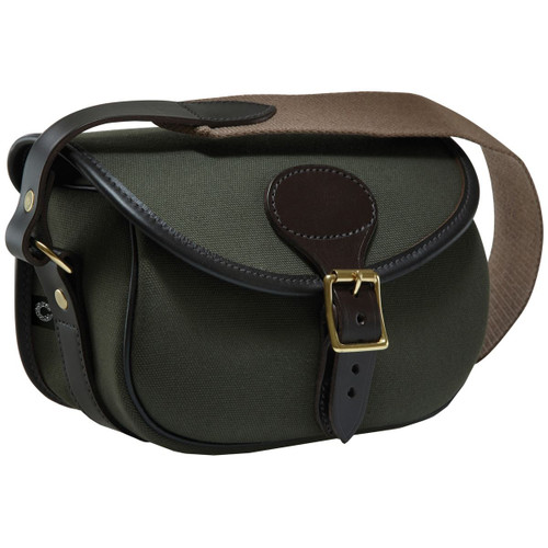 Loden Green - Croots Rosedale Canvas Cartridge Bag