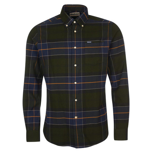 Forest Barbour Mens Lutsleigh Tailored Shirt