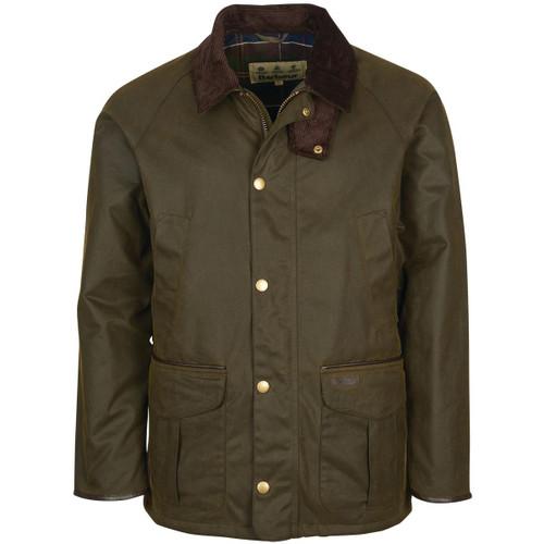 Olive Barbour Mens Stratford Wax Jacket