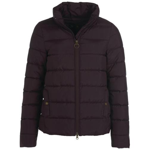 Elderberry Barbour Womens Hinton Quilted Jacket