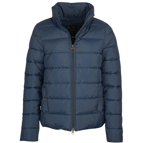 Navy Barbour Womens Hinton Quilted Jacket
