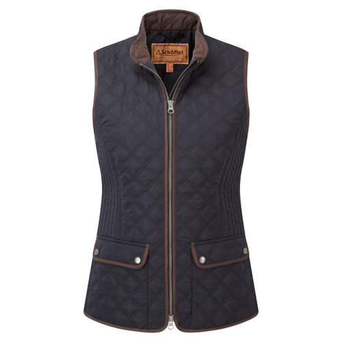 Midnight Schoffel Womens Quilted Gilet