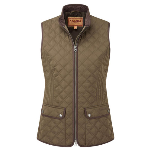 Olive Schoffel Womens Quilted Gilet