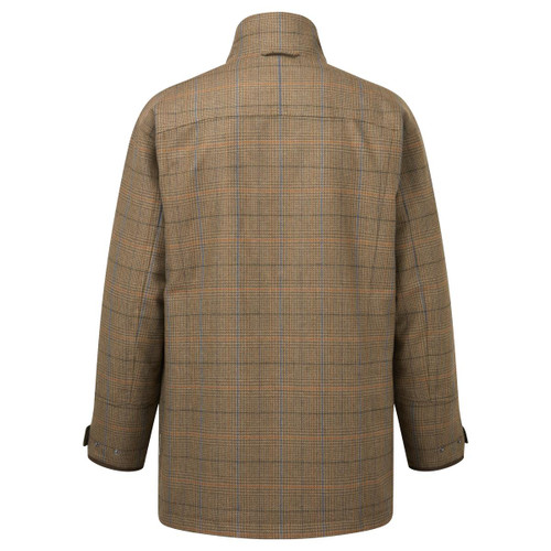 Arran Tweed Schoffel Mens Ptarmigan Tweed Classic Coat
