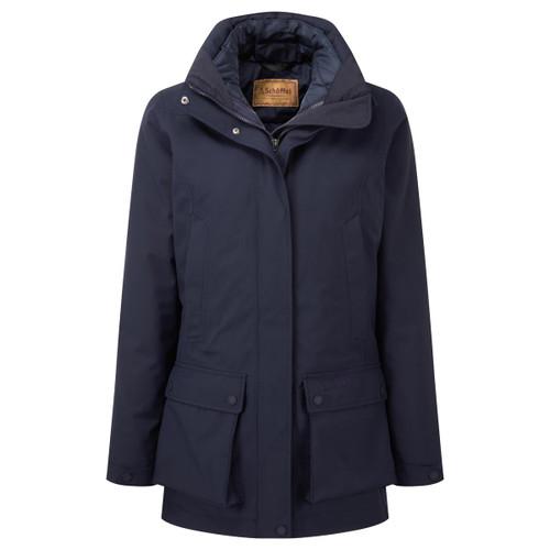 True Navy Schoffel Womens Uppingham 3 in 1 Coat