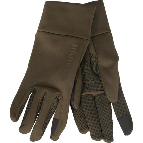 Willow Green Harkila Mens Power Stretch Gloves