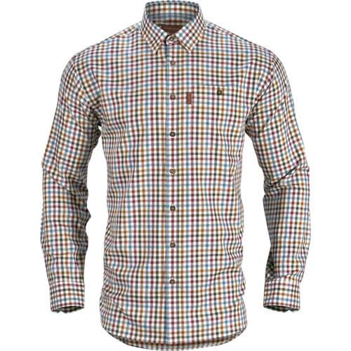 Multi Check Harkila Mens Milford Shirt