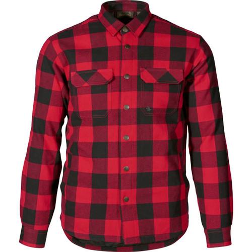 Red Check Seeland Mens Canada Shirt