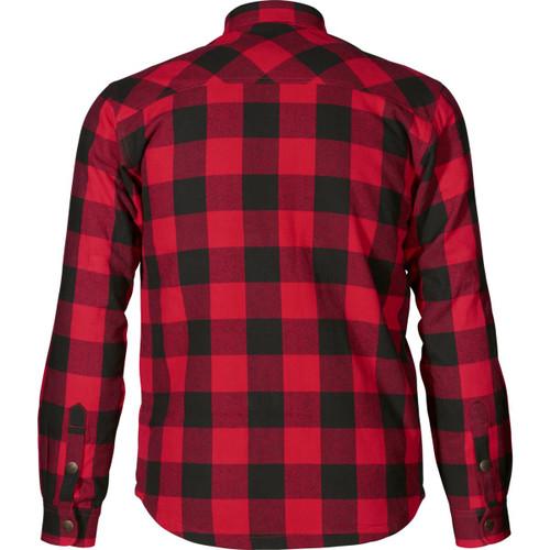 Red Check Seeland Mens Canada Shirt Back