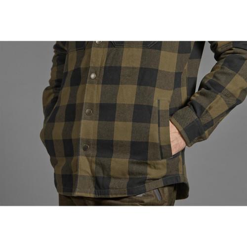 Green Check Seeland Mens Canada Shirt Lifestyle