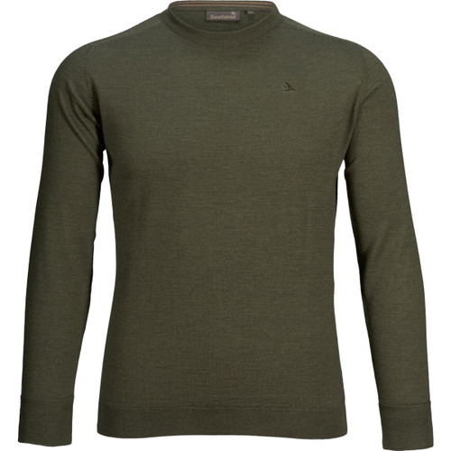 Classic Green Seeland Mens Woodcock Pullover