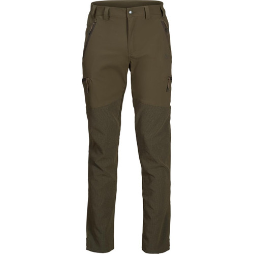 Pine Green Seeland Mens Outdoor Reinforced Trousers