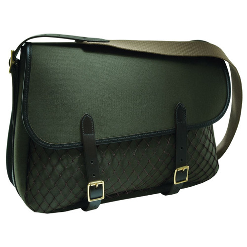 Loden Green -Croots Rosedale Canvas Game Bag