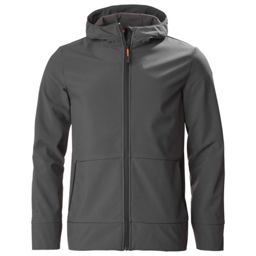 Carbon Musto Land Rover Mens Full Zip Softshell Hoodie