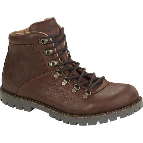 Dark Brown Birkenstock Unisex Jackson Nubuck Leather Boot