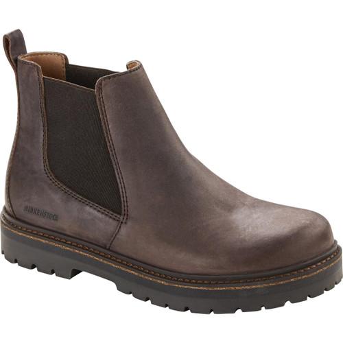 Mocha Birkenstock Unisex Stalon Nubuck Leather Boot