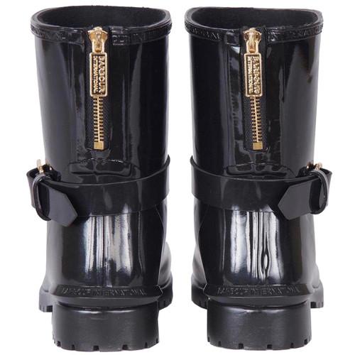 Barbour International Womens Mugello Wellington Boots Rear