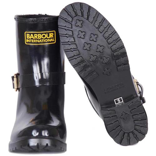 Barbour International Womens Mugello Wellington Boots Sole