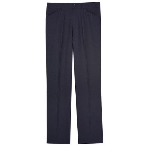 Navy Farah Mens Roachman Frogmouth Twill Trousers