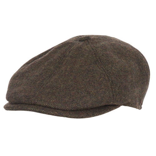 Olive Barbour Mens Claymore Bakerboy Hat