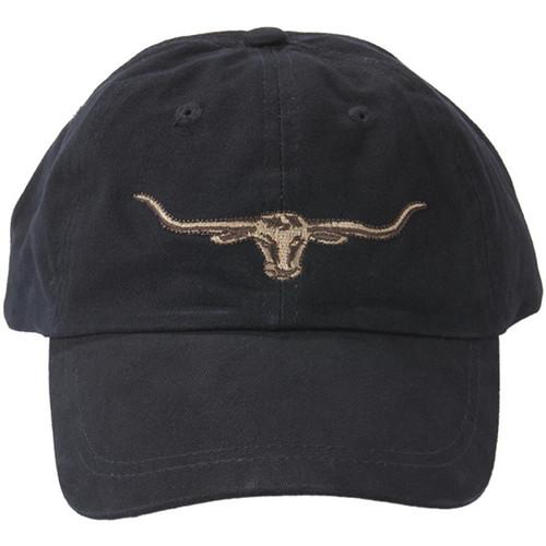 Navy R. M. Williams Mens Steers Head Logo Cap