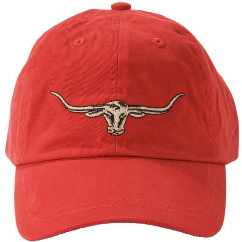 Red R. M. Williams Mens Steers Head Logo Cap