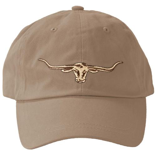 Buckskin R. M. Williams Mens Steers Head Logo Cap