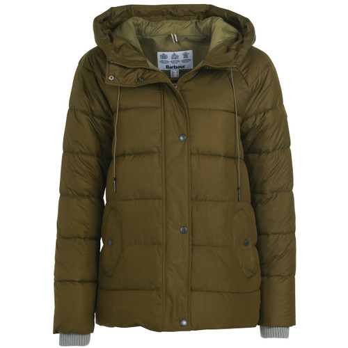 Nori Green Barbour Womens Tidepool Quilted Jacket