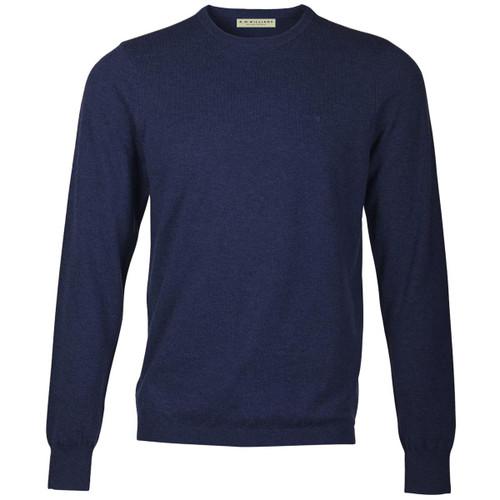 Navy R. M. Williams Mens Howe Sweater