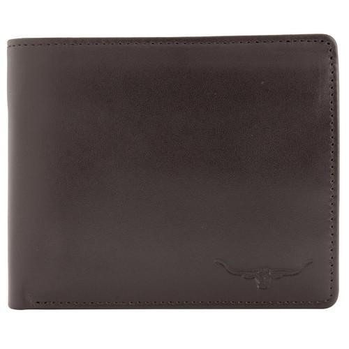 Chestnut R.M. Williams Mens Tri-Fold Wallet