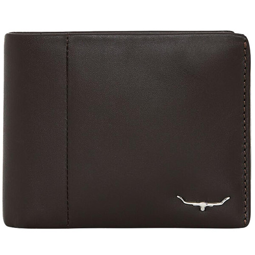 Brown R.M. Williams Mens Wallet With Coin Pocket
