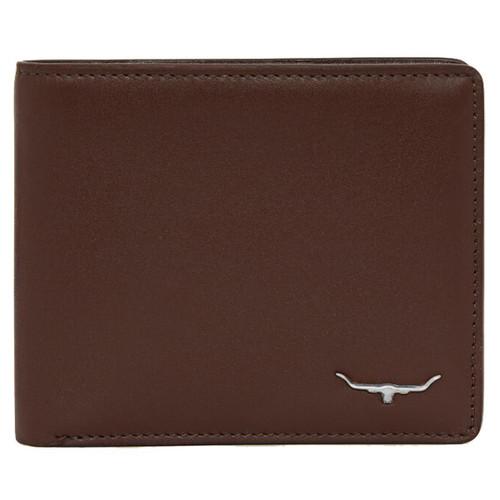 Whiskey R. M. Williams Mens City Slim Bi-Fold Wallet