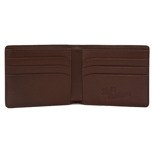 R. M. Williams Mens City Slim Bi-Fold Wallet inner