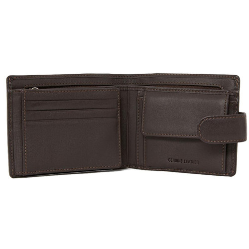 R.M. Williams Mens Wallet With Coin Pocket And Tab