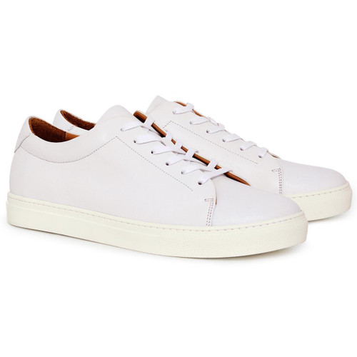 White R. M. Williams Mens Surry Trainers