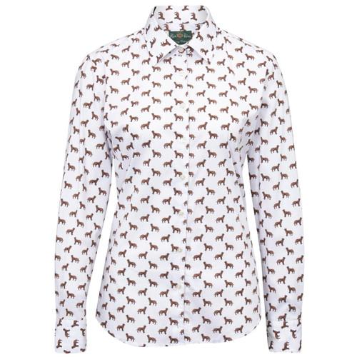 Dog Alan Paine Womens Lawen Printed Shirt