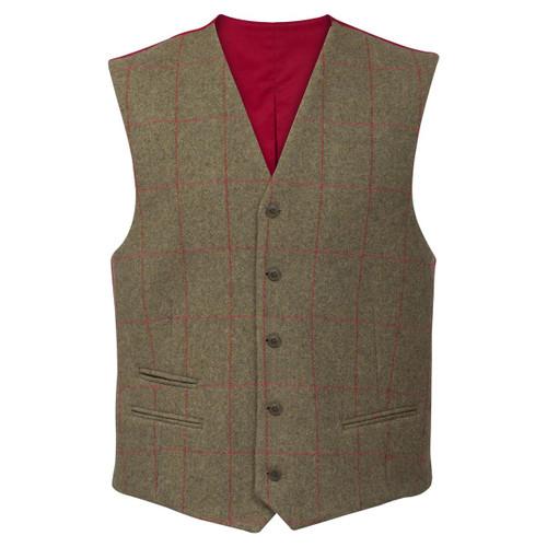 Sage Alan Paine Mens Combrook Lined Back Waistcoat