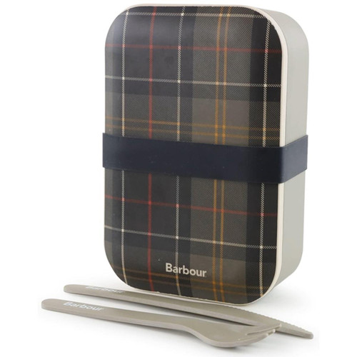 Barbour Bamboo Lunch Box & Cutlery
