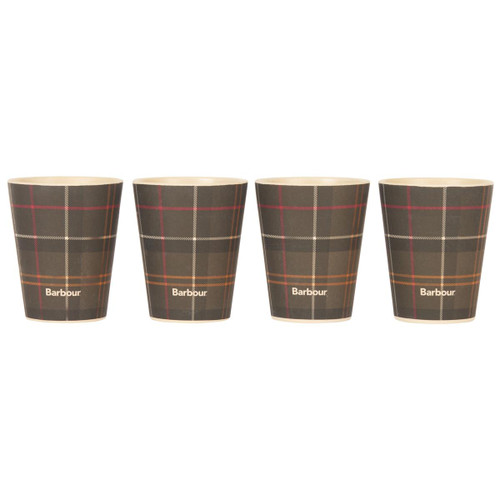 Barbour Set of 4 Bamboo Cups