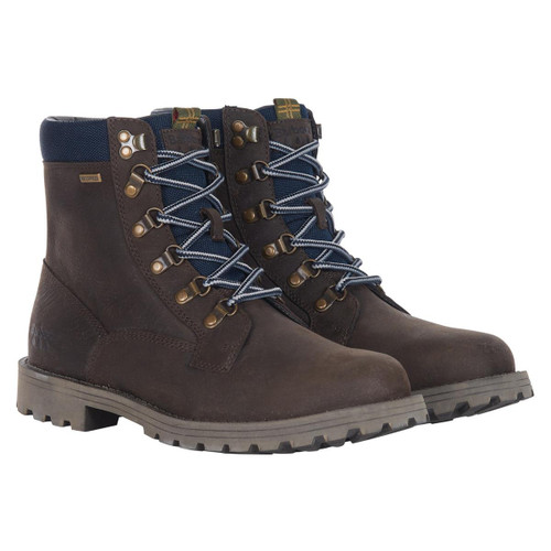 Brown Barbour Mens Chiltern Boots