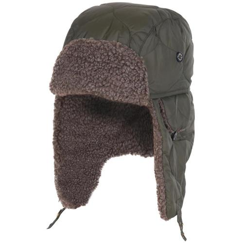 Barbour Mens Sandbay Quilted Trapper Hat